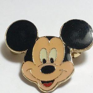 Vintage Mickey Mouse Pin Brooch Disney Ears